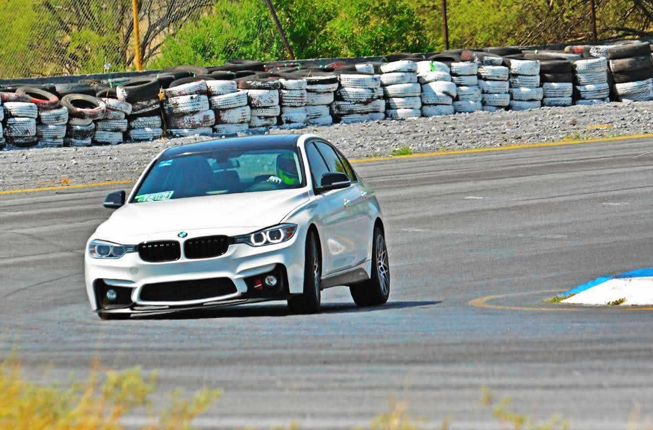 BMW en track day